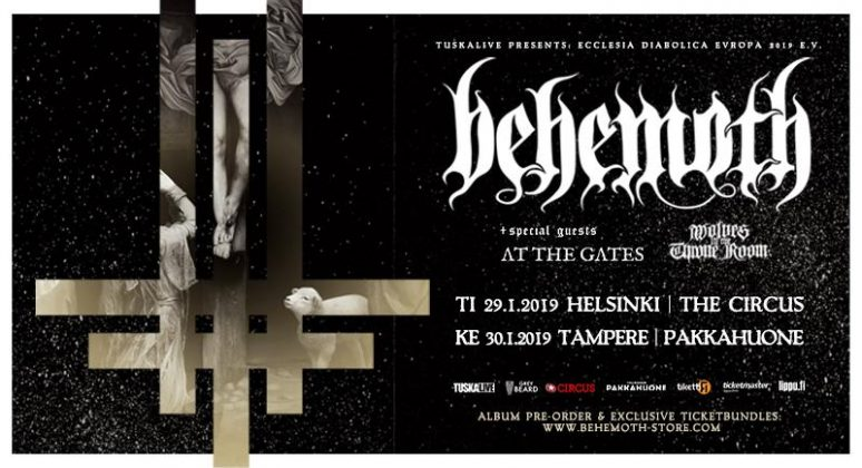 Behemoth 29.11.19 @Helsinki – The Circus